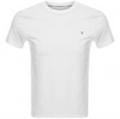 Product Image for Farah Vintage Denny T Shirt White